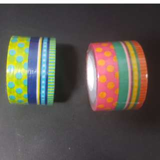 Washi Tape Assorted Design 30mm/5m