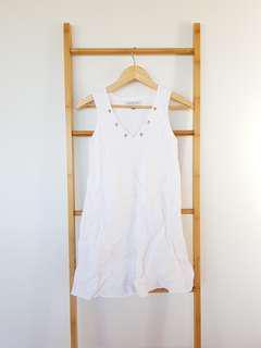 Forever New White Dress Size 6