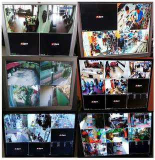 Cctv HD Camera Free Installation