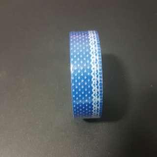 Washi Tape Blue Polka dot