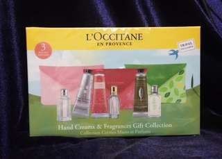 L'occitane Travel Gift Set
