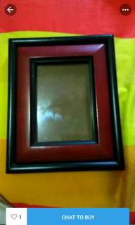 Photo frame kayu