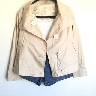 Nude Soft Jacket