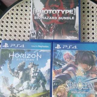 Ps4 game bundle #1