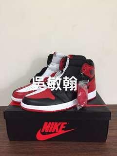 Air Jordan 1 黑紅鴛鴦 us11