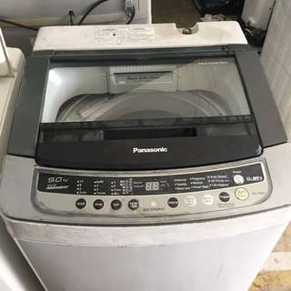 9kg Panasonic Mesin Basuh Washing Machine Auto