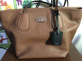 Pre-loved Coach Tote (brown)