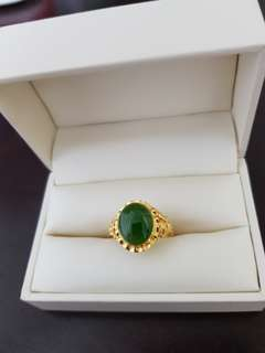 Jade Ring (Pure Gold 9.99)