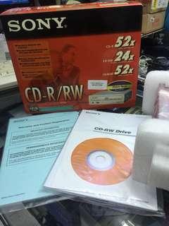 Sony cd-r/rw