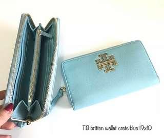 Tb britten wallet Crete blue sz 19x10