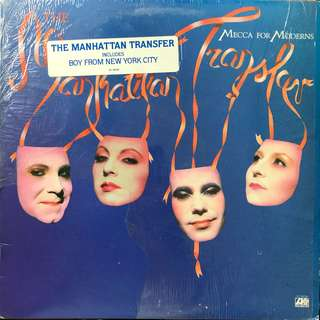 LP Record: Manhattan Transfer- Mecca For Moderns(Vinyl)