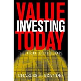 Value Investing Today (238 Page Mega eBook)