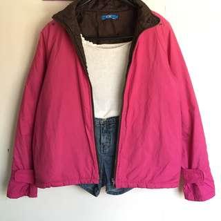 Pink Soft Winter Jacket
