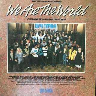 LP Record: USA For Africa- We Are The World (Vinyl)