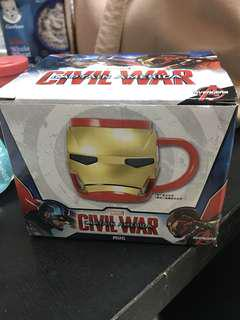 Marvel iron man膠水杯