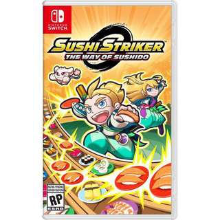 Sushi striker nintendo switch 🍣