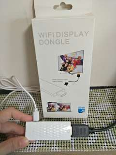 🚚 WI-FI DISPLAY DONGLE HDMI 無線輸出分享器