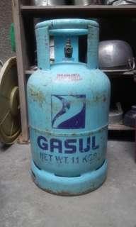 Empty Petron Gasul LPG tank