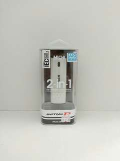 🚚 MICHI 2-in-1 Car Charger /Power Bank