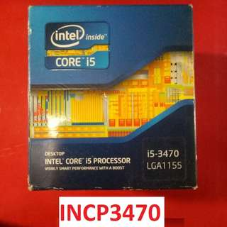 For Sale CORE I5 3470