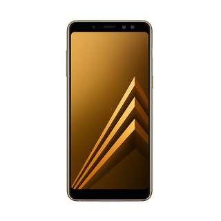 Kredit Samsung Galaxy A8 Plus 2018 ( Maple Gold )