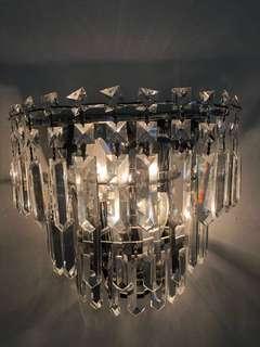 Crystal Wall Light