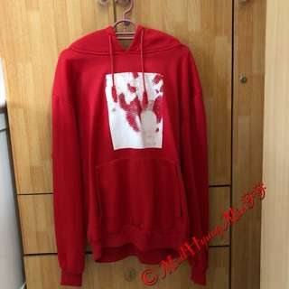 EXO Wolf 88 Unofficial Hoodie (RED)