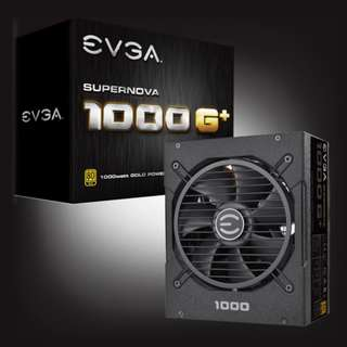 EVGA SuperNOVA 1000 G1+, Full Modular, 80 Plus Gold
