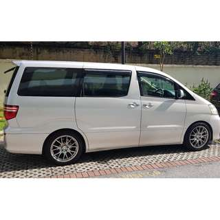 2005 Toyota Alphard 2.4 (A) REGISTER YEAR 2010