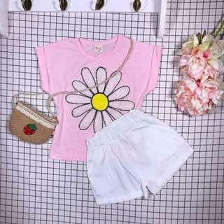 KIDS TERNO TOP AND SHORT