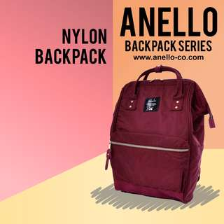 Anello Nylon Backpack Rucksack | Anello Backpack Series!