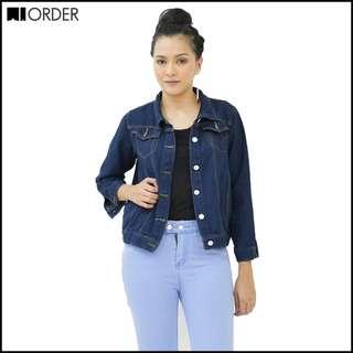 Women's Long Sleeve Casual Jacket Jeans Blouse Outwear Coat 859 waorder