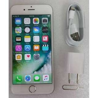 REPRICE IPHONE 6 silver 16gb