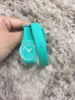 Original swatch with long strap