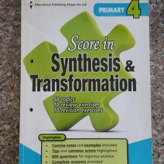 English Primary 4 Synthesis & Transformation