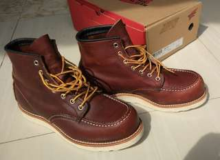 Red Wing 8138 Briar Oil Slick Leather US=8 UK=7 EUR=41