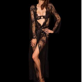 Honey Birdette Love Lace Robe
