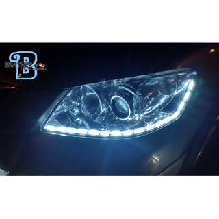 (6) Crystal LED DRL Daylight