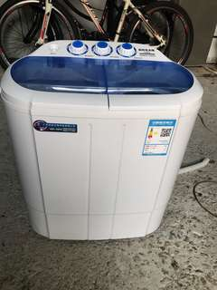 長虹紅太陽3.5 kg半自動迷你洗衣機