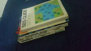 Vintage  sbs and mrt guide