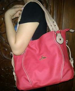 SC Secosana Bag - Red Orange (BRAND NEW)