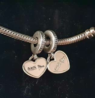 Pandora 'With You''Dangle Charm Set