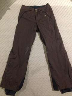 Columbia Snow Pants - Brown Size small