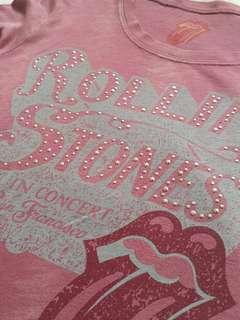 Vintage Rolling Stones Blouse