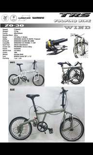 Foldable Bicycle Trs wild come with 9 speed