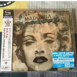 Madonna Celebration(SHM-CD)