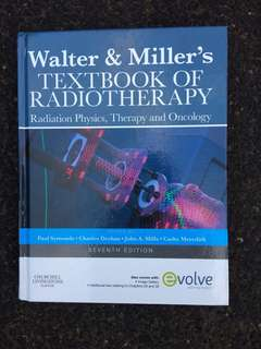 Walter and Miller's Textbook of Radiotherapy (7th Edn) Hardcover