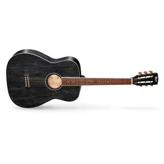 NEW CORT AF 590MF BLACK OPEN PORE ACOUSTIC GUITAR WITH BAG