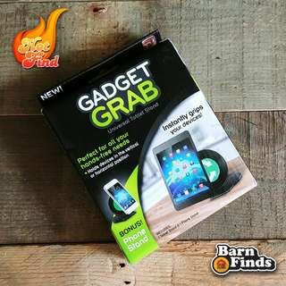 GADGET GRAB (TABLET & CELLPHONE STAND)