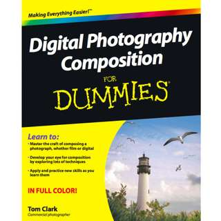 Digital Photography Composition For Dummies (372 Page Mega Full Colored eBook)